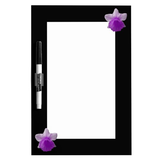 Dripping Daffodil Purple Memo Board