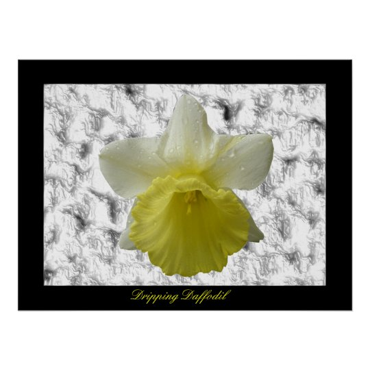 Dripping Daffoldil Customizable Print