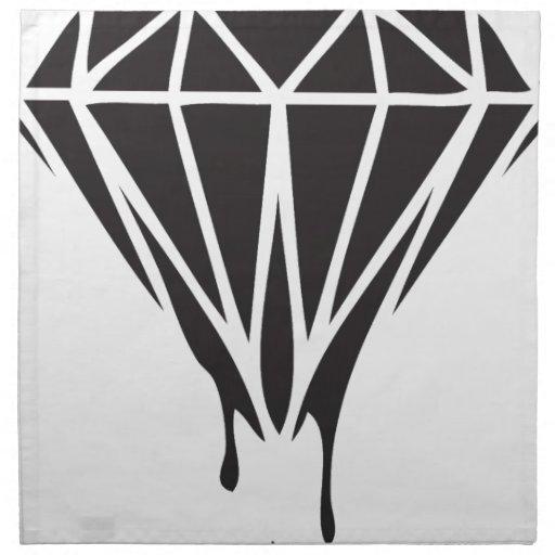 Drippin Diamond: Dripping Diamond Dope Swag Gear Cloth Napkins