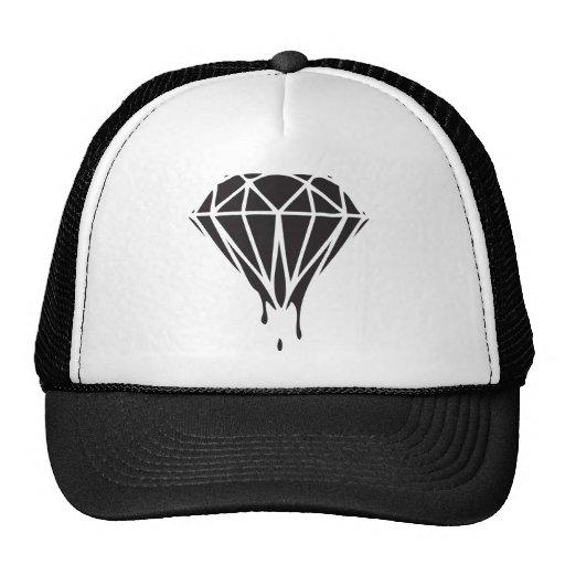 dripping diamond dope swag gear trucker hat zazzle