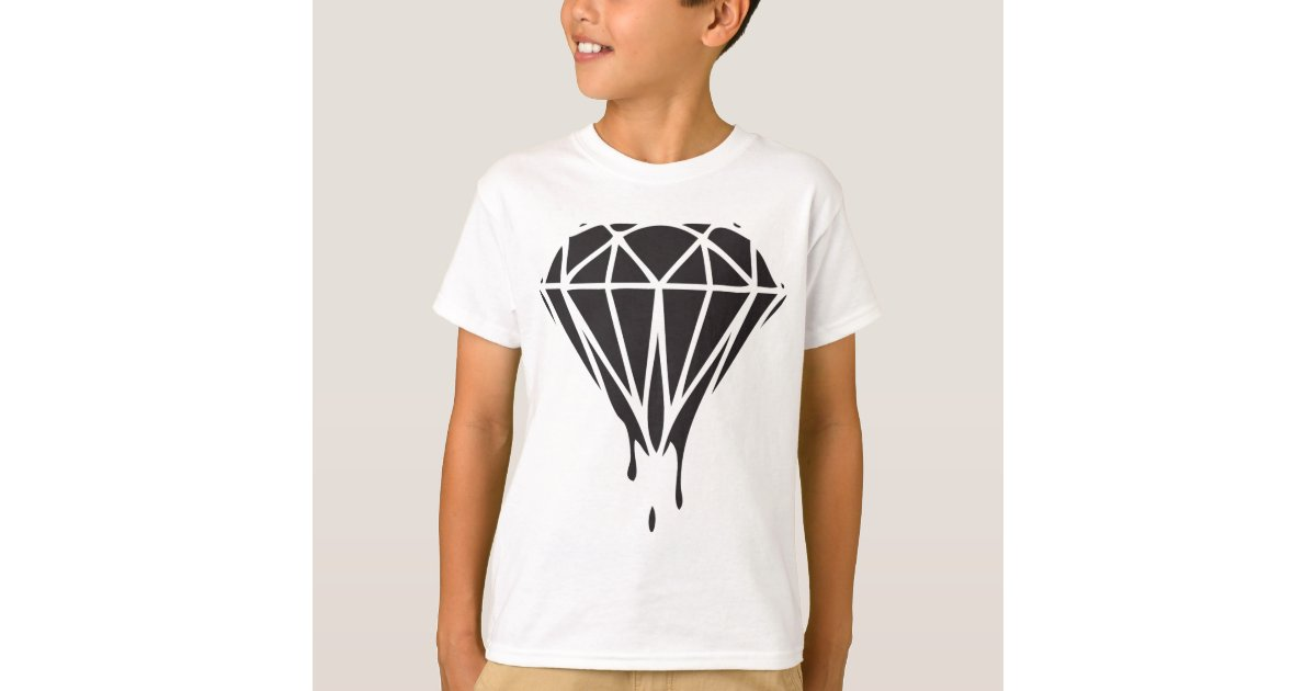dripping diamond dope swag gear tshirt zazzlecom