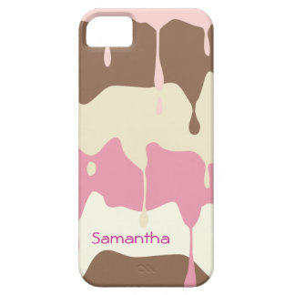 Dripping Ice Cream Personalized iPhone SE/5/5s Case