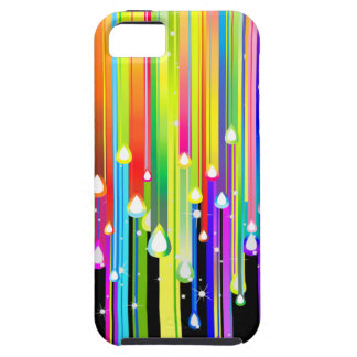 Dripping Paint and Sparkling Stars iPhone SE/5/5s Case