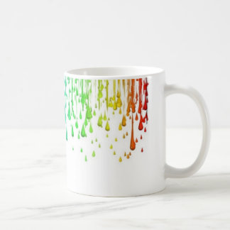 Dripping paint mug