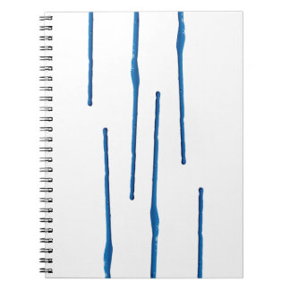 Dripping Paint Notebook