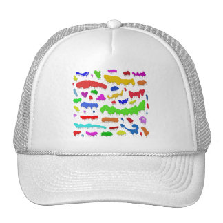 Dripping Paint Splodges Trucker Hat