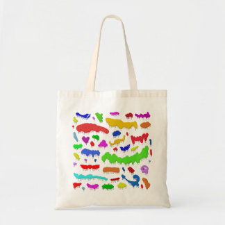 Dripping Paint Splodges Tote Bag