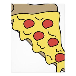 Dripping Pizza Letterhead