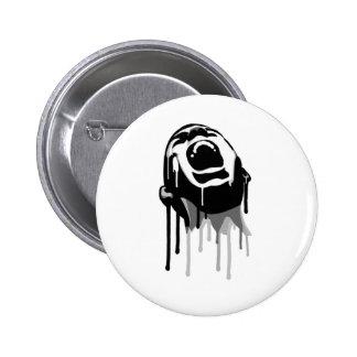 Dripping Scream 2 Inch Round Button