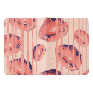 Dripping Sherbert Paint Lips Extra Large Moleskine Notebook