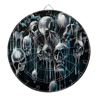 Dripping Skulls Dartboard