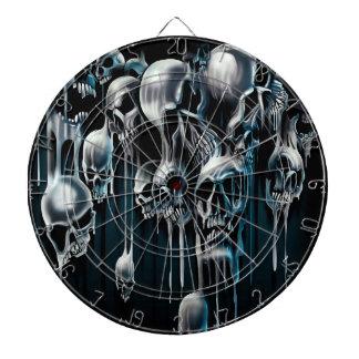 Dripping Skulls Dartboards