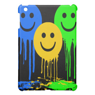 DRIPPING SMILEY FACES  iPad MINI CASE