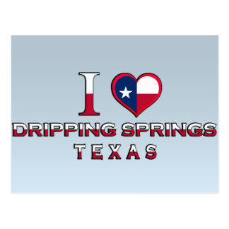 Dripping Springs, Texas Postcard