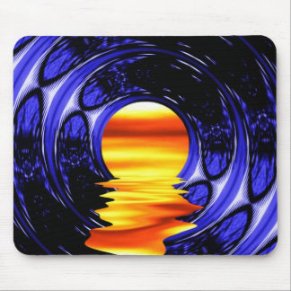 Dripping Sunset Mouse Pad