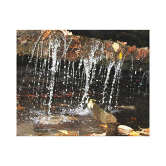 Dripping Water Fall Canvas Print