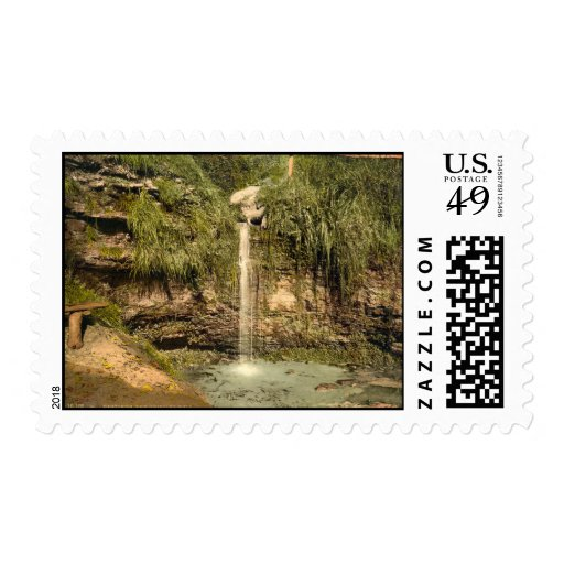 Dripping Well, Hastings, Sussex, England Postage Stamp