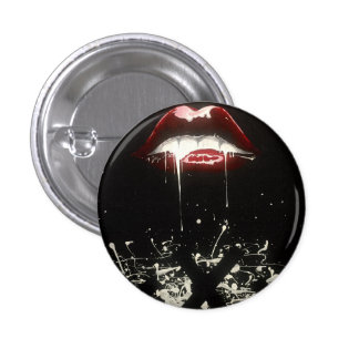 Dripping with sin pinback button