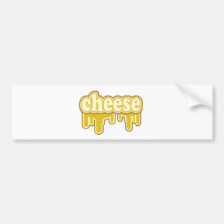 Drippy Cheese Say What Bumper Stickers