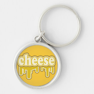 """""""Drippy Cheese"""" Say What? Keychain"""