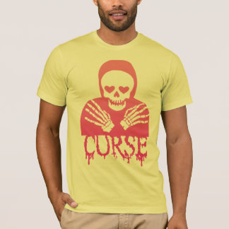 Drippy Curse Skull Shirt