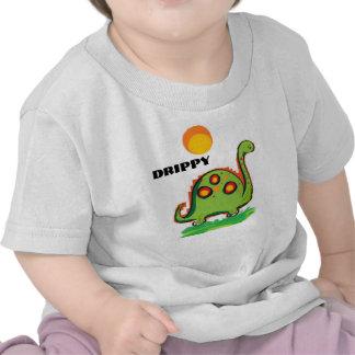 Drippy the dinosaur tees