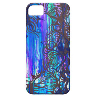 Drippy Trees phone case