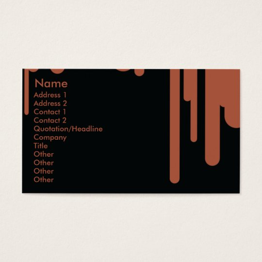 Drips - Business Business Card