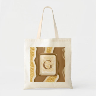 Drips - Chocolate Marshmallow Tote Bags
