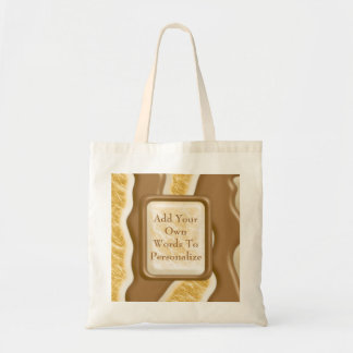 Drips - Chocolate Marshmallow Canvas Bags