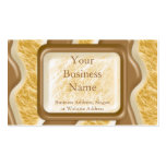 Drips - Chocolate Marshmallow Double-Sided Standard Business Cards (Pack Of 100)