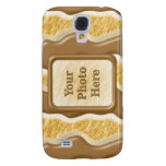 Drips - Chocolate Marshmallow Samsung Galaxy S4 Cases