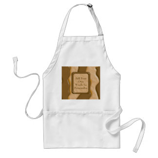 Drips - Chocolate Peanut Butter Adult Apron