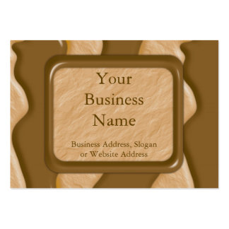 Drips - Chocolate Peanut Butter Large Business Cards (Pack Of 100)