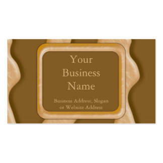 Drips - Chocolate Peanut Butter Double-Sided Standard Business Cards (Pack Of 100)