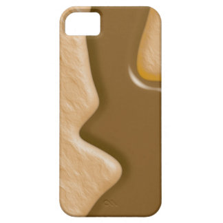 Drips - Chocolate Peanut Butter iPhone SE/5/5s Case