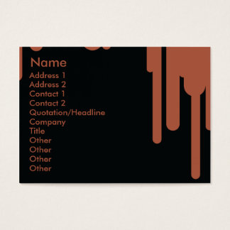 Drips - Chubby Business Card