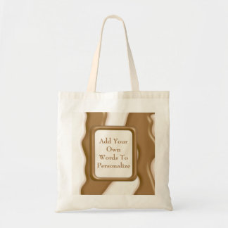 Drips - Milk Chocolate and White Chocolate Tote Bag