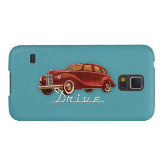 Drive a Classic Car Vintage Retro Automobile Case For Galaxy S5
