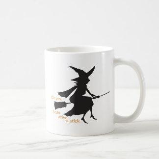 Drive a Stick Coffee Mug