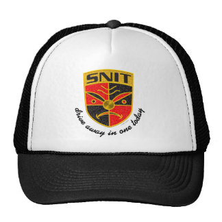 Drive away in a Snit hat