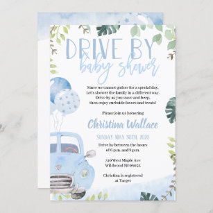 Baby Shower Invitations Baby Announcements Party Invitations\u2014Deposit for order Woodberry Forest Announcements