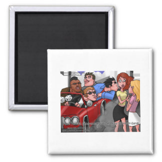 Drive By Hickey Gangs Funny Tees Mugs Gifts Refrigerator Magnet