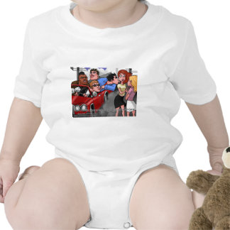 Drive By Hickey Gangs Funny Tees Mugs Gifts Baby Bodysuit