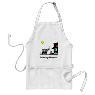 Drive-By-Whuppin Adult Apron