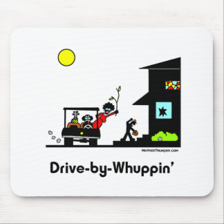 Drive-By-Whuppin Mouse Pad