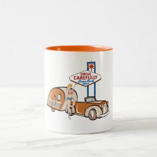 Drive Carefully Las Vegas Mug