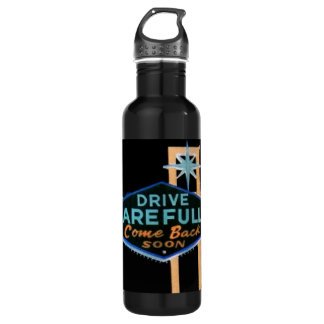 Drive Carefully Water Bottle
