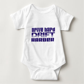 drive hard drift harder baby bodysuit