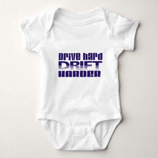drive hard drift harder baby bodysuit